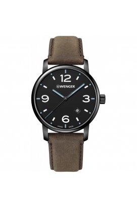 Мужские часы Wenger Watch URBAN METROPOLITAN W01.1741.135, Циферблат - Чёрный, Корпус - Черный, Швейцария