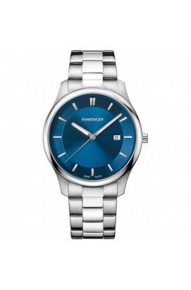 Мужские часы Wenger Watch CITY CLASSIC W01.1441.117, Циферблат - Синий, Швейцария