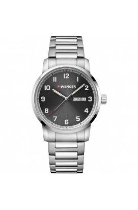 Мужские наручные часы Wenger Watch ATTITUDE W01.1541.119, Циферблат - Серый, Корпус - Сталь, Швейцария