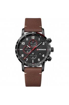 Мужские часы Wenger Watch ATTITUDE Chrono W01.1543.107, Циферблат - Чёрный, Швейцария