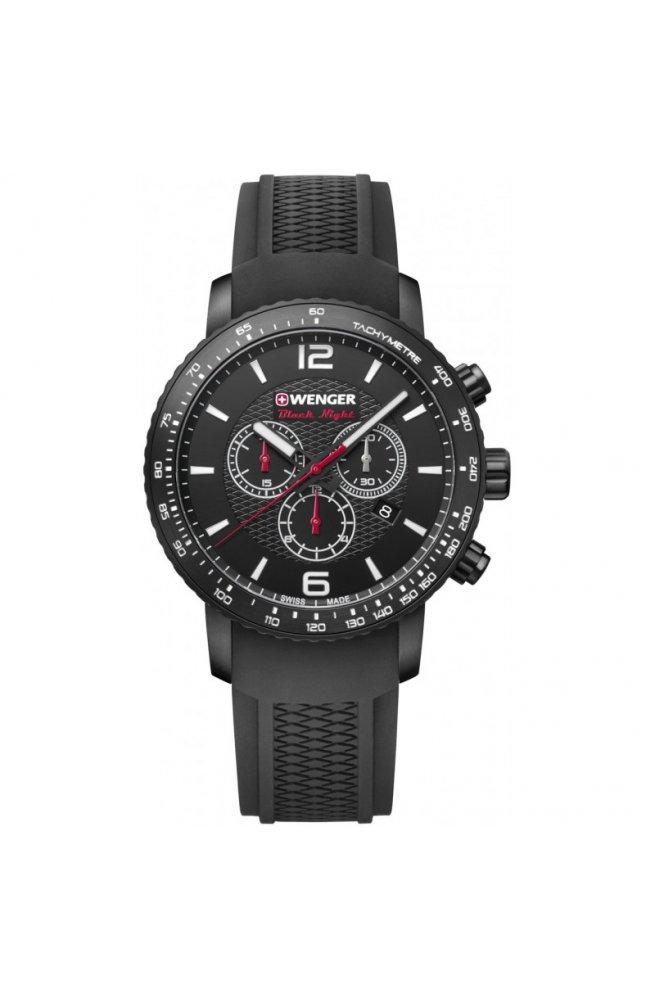 Мужские часы Wenger Watch ROADSTER Black Night Chrono W01.1843.102