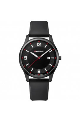 Мужские часы Wenger Watch CITY ACTIVE W01.1441.111, Циферблат - Чёрный, Швейцария