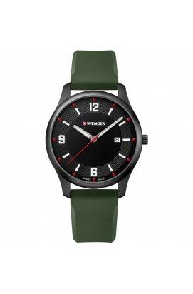 Мужские часы Wenger Watch CITY ACTIVE W01.1441.125, Циферблат - Чёрный, Корпус - Черный, Швейцария