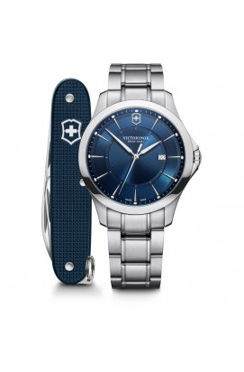 Мужские часы Victorinox Swiss Army ALLIANCE V241910.1, Циферблат - Синий, Корпус - Сталь, Швейцария