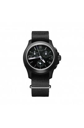 Чоловічі годинники Victorinox SwissArmy ORIGINAL Chrono V241534, Циферблат - Чорний, Швейцарія
