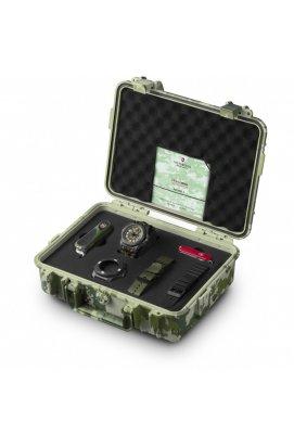 Мужские часы Victorinox Swiss Army I.N.O.X. Carbon LE V241927.1, Циферблат - Камуфляж, Корпус - Черный, Швейцария