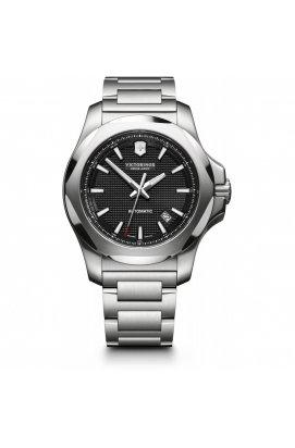 Мужские часы Victorinox Swiss Army I.N.O.X. Mechanical V241837, Циферблат - Чёрный, Корпус - Серебристый, Швейцария
