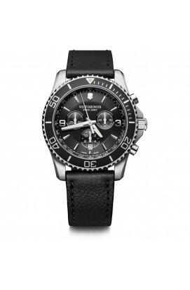 Мужские наручные часы Victorinox SwissArmy MAVERICK Chrono V241864, Циферблат - Чёрный, Корпус - Сталь, Швейцария