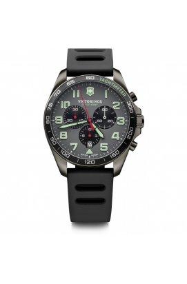 Мужские часы Victorinox Swiss Army FIELDFORCE Sport Chrono V241891, Циферблат - Серый, Корпус - Черный, Швейцария