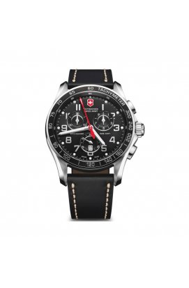 Мужские часы Victorinox SwissArmy CHRONO CLASSIC XLS V241444, Циферблат - Чёрный, Швейцария