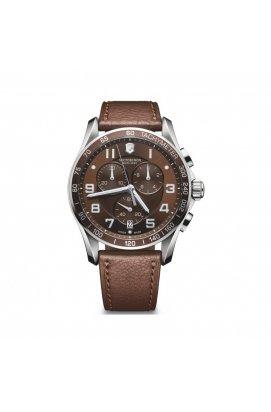 Мужские часы Victorinox SwissArmy CHRONO CLASSIC XLS V241653, Циферблат - Коричневый, Швейцария