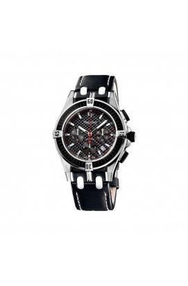 Мужские часы Pequignet MOOREA Triomphe Chrono Pq4510743cn, Циферблат - Чёрный, Швейцария