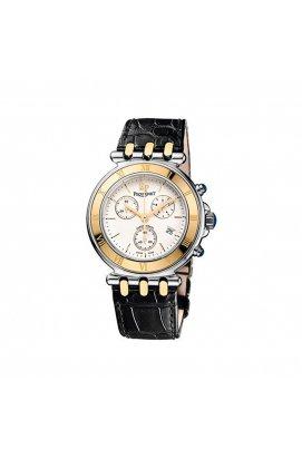 Чоловічі годинники Pequignet MOOREA Vintage Chrono Pq1351438cn, Циферблат - Білий, Швейцарія