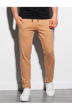 Мужские спортивные штаны P946 - карамельный - Ombre