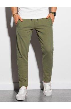 Мужские спортивные штаны P946 - хаки - Ombre