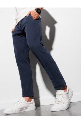 Чоловічі спортивні штани P946 - темно-синій - Ombre