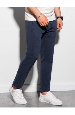 Мужские спортивные штаны P946 - темно-синий - Ombre