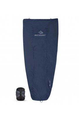 Спальный мешок-квилт Sea to Summit Glow Gw1 Quilt, Long (10/4°C), 198 см, Dark Sapphire/Grey (STS AGW1-L)