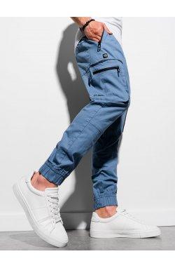 Мужские спортивные штаны P960 - синий - Ombre