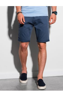 Шорты мужские casual W303 - синий - Ombre