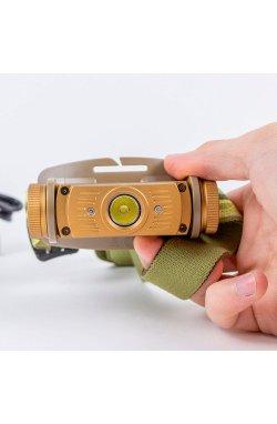 Налобный фонарь Fenix HL60R DY Cree XM-L2 U2 Neutral White LED, 950 люмен, Gold (FNX HL60RDY)
