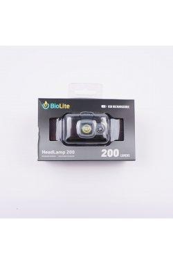 Налобный фонарь BioLite Headlamp 200 люмен, Midnight Grey (BLT HPB0202)