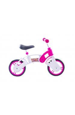 """Детский; Беговелы Велосипед Беговел 10"""" SMALL RIDER Pl (бело-розовый)"""
