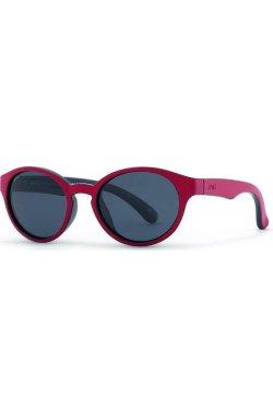 Детские солнцезащитные очки INVU K2805E - круглые, Цвет линз - серый