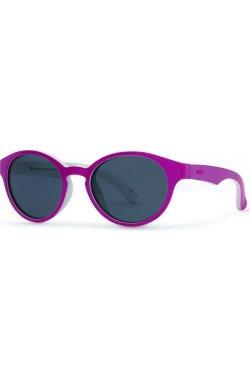 Детские солнцезащитные очки INVU K2805F - круглые, Цвет линз - серый