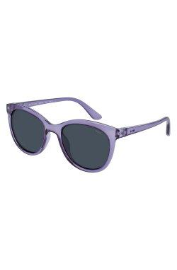 Детские солнцезащитные очки INVU K2902G - бабочки, Цвет линз - серый