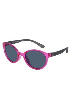 Детские солнцезащитные очки INVU K2903G - круглые, Цвет линз - серый