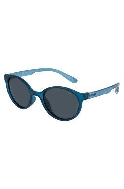 Детские солнцезащитные очки INVU K2903L - круглые, Цвет линз - серый