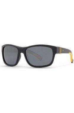 Детские солнцезащитные очки INVU K2912A - прямоугольные, Цвет линз - серый