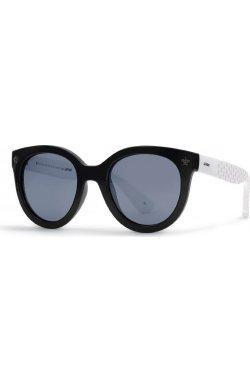 Детские солнцезащитные очки INVU K2913A - бабочки, Цвет линз - серый