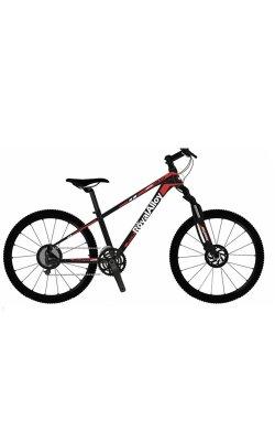 """Велосипед RoyalBaby MTB 1.0 24"""", OFFICIAL UA, черный"""