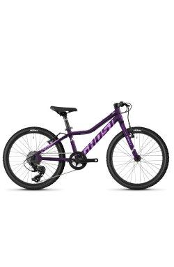 """Велосипед Ghost Lanao 20"""" AL W , фиолетовый, 2021"""
