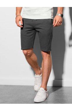 Мужские шорты короткие спортивные W299 - графитный - Ombre