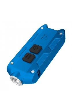 Фонарь Nitecore TIP CRI (Nichia LED, 220 люмен, 4 режима, USB), синий