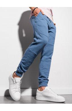 Мужские спортивные штаны P987 - синий - Ombre