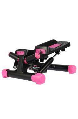 Степпер поворотный (мини-степпер) SportVida SV-HK0358 Black/Pink