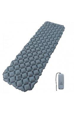 Надувной каримат Atepa MATTRESS(AM1008) (light grey)