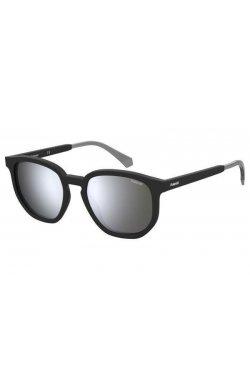 Солнцезащитные очки Polaroid PLD2095/S-003-EX - квадратные, Цвет линз - серый