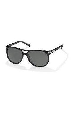 Мужские солнцезащитные очки Polaroid PLD2018-6LB-M9 - авиаторы, Цвет линз - серый