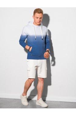 Толстовка мужская с капюшоном B1174 – темно-синий - Ombre