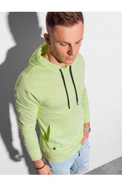 Толстовка мужская с капюшоном B1154 – lime - Ombre