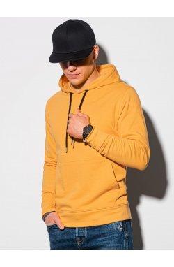 Толстовка мужская с капюшоном B1154 – жёлтый - Ombre