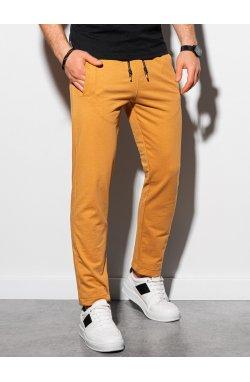 Мужские спортивные штаны P950 - горчичный - Ombre