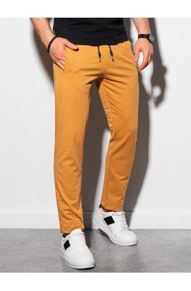Чоловічі спортивні штани P950 - гірчичний - Ombre