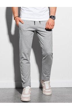 Мужские спортивные штаны P950 - серый меланж - Ombre