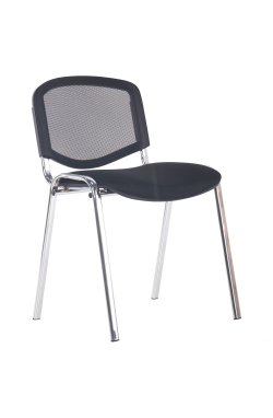 Стул Изо Веб хром сиденье А-1/Спинка Сетка черная - AMF - 290917